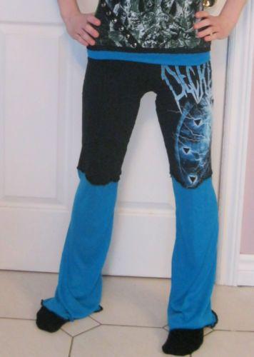 Decrepit Birth Women's Pants DIY Death Metal Clothing Heavy Metal