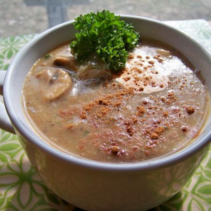 Low Fat Creamy Mushroom Soup Recipe — Dishmaps