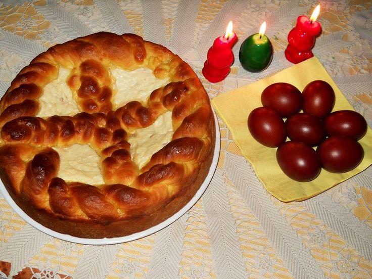 easter blossom bread romanian easter bread pasca romanian easter bread ...