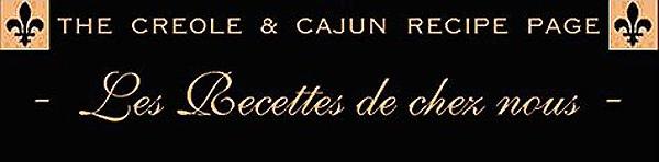 Creole and Cajun Recipes.