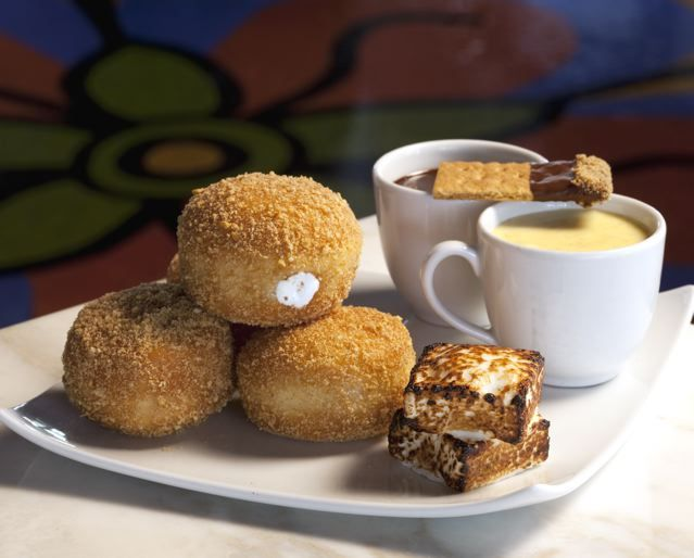 Chocolate S'Mores Donuts | DESSERTS. | Pinterest