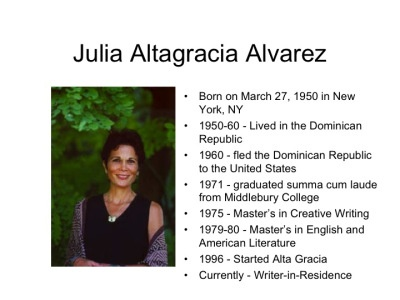 my english by julia alvarez essay