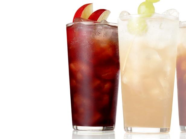 ... : Pecan pie soda, Spiced cran-grape soda, and Apple-pomegranate soda