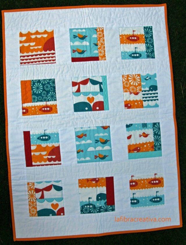 Colchas cuna patchwork pinterest - Colchas patchwork infantiles ...