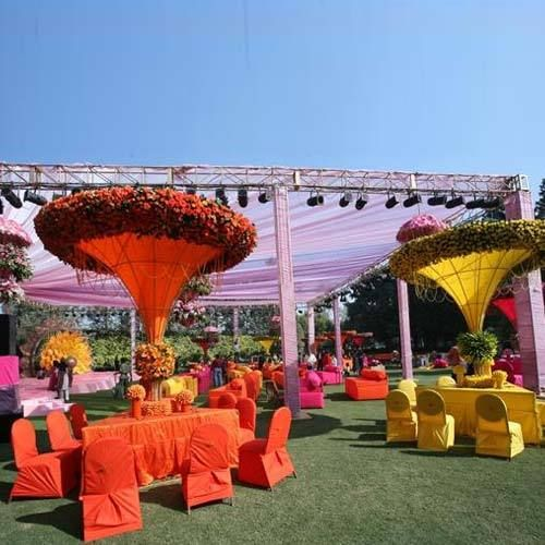 Modern outdoor wedding decorations weddings cultural for Decor india jaipur