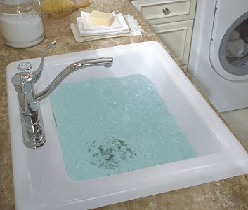 delicair-laundry-sink-basin with jets for delicates