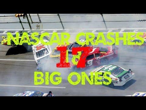 nascar huge crash