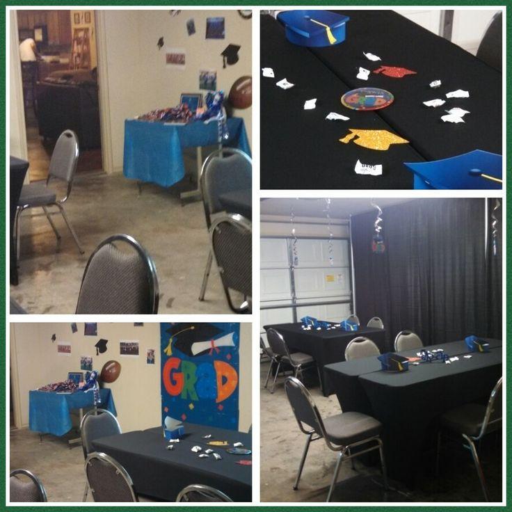Graduation open house garage party | Graduation ideas | Pinterest