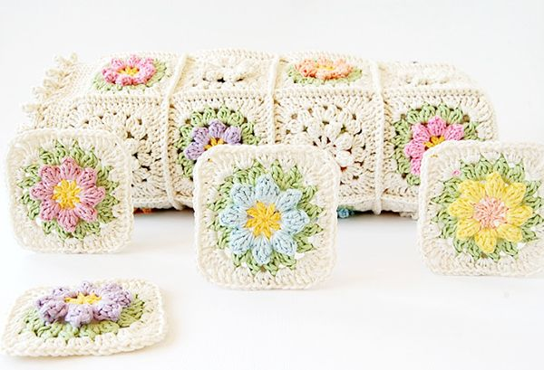 2015 Crochet Patterns : Primavera flowers Free Crochet Patterns and Tutorials