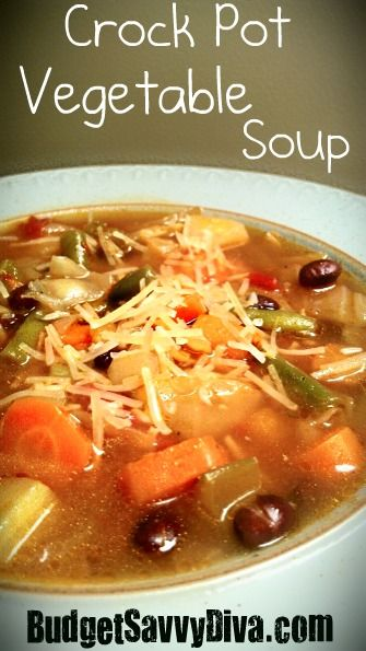 This is the best vegetable soup I have ever had – hands down. It is ...
