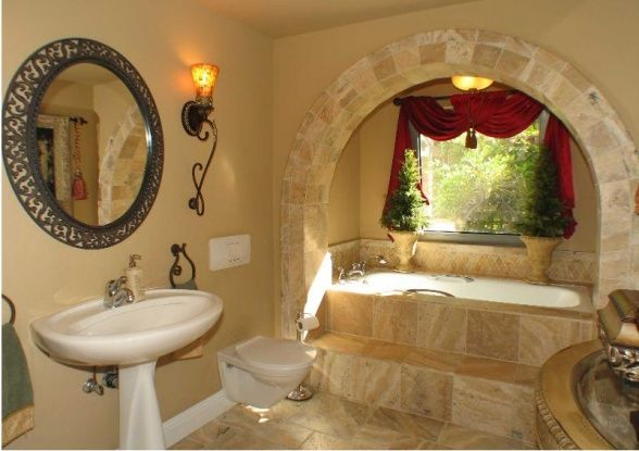Tuscan bathroom decor tuscan guest bathroom tuscan travertine
