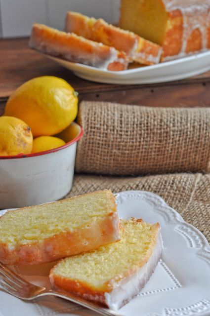 Blueberry-Sour Cream Pound Cake With Lemon Cream Recipes — Dishmaps