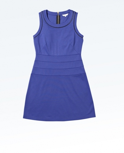 Dress W Pleather Trim from Mix Apparel in Coles (AUD $29).