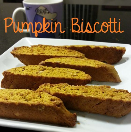 More like this: biscotti , pumpkins and white chocolate .