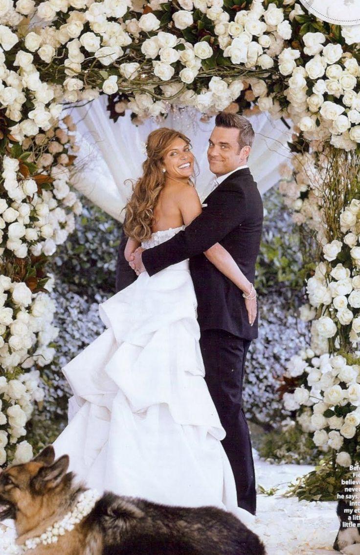 robbie williams wedding novias amp bodas pinterest