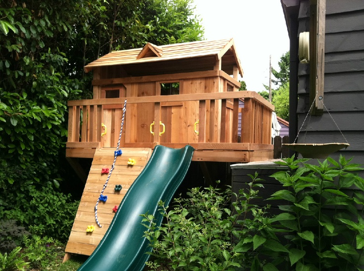 Custom Backyard Play Structures : Custom Play Structures  Outdoor Play Spaces  Pinterest