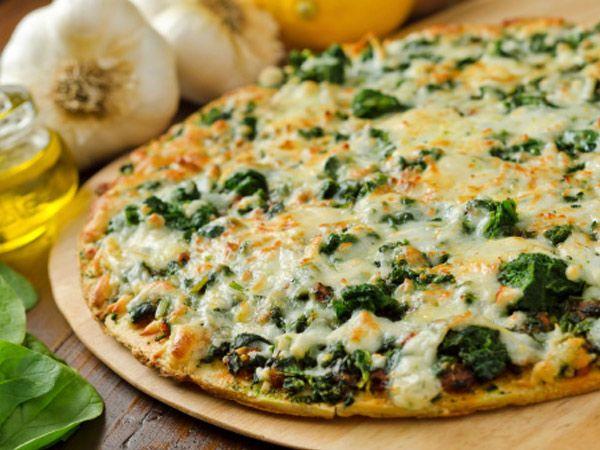 bellpepper, zucchini and pesto pizza | Food | Pinterest