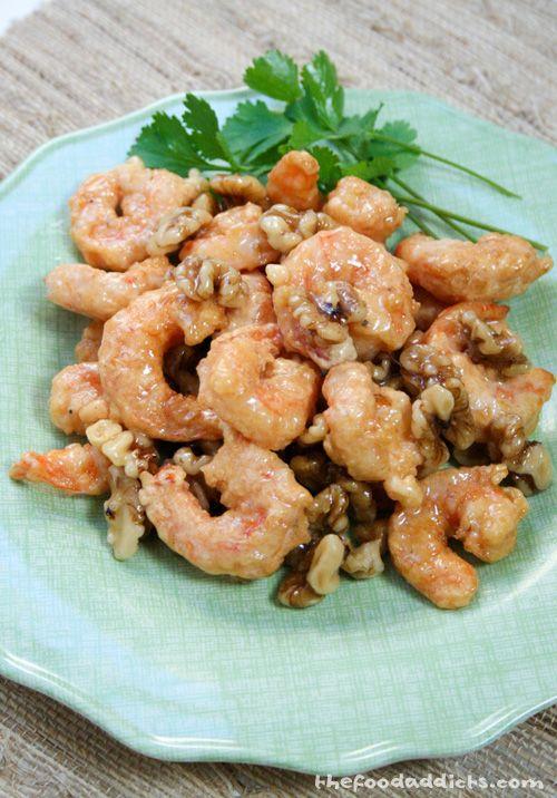 Honey Walnut shrimp. | Eat | Pinterest