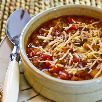 ... Recipe for Sausage, Peppers, and Cannellini Bean Stew with Parmesan