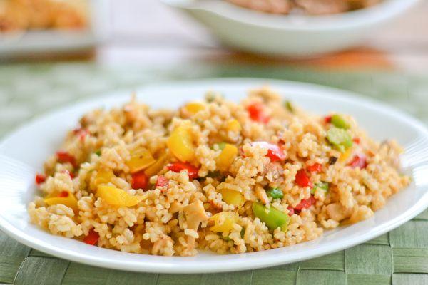 Vegetable Fried Rice! | Recipes: Skinny Snacks | Pinterest