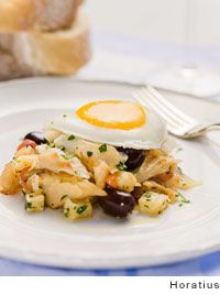 Portuguese Salt Cod Hash by Horatius