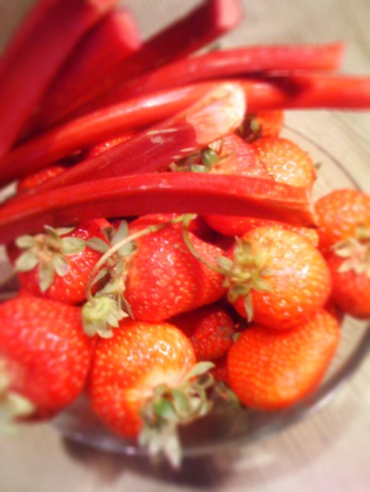 Strawberry Rhubarb Jam | Jam/Jellies | Pinterest