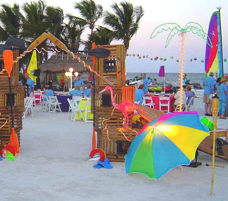 beach party decorations pinterest decoration