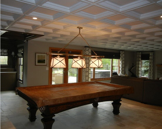coffered drop ceiling armstrong home ideas pinterest
