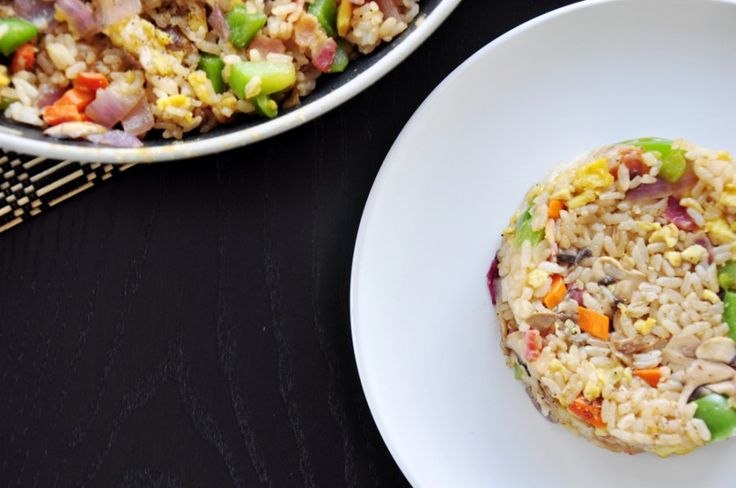 More like this: fried rice , bacon egg and rice .
