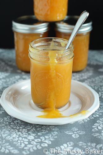 Homemade Peach Butter: Summer in a jar! | Sweets | Pinterest