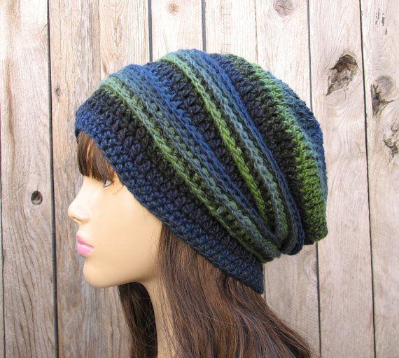 Crochet Hat - Slouchy Hat, Crochet Pattern PDF,Easy, Great ...