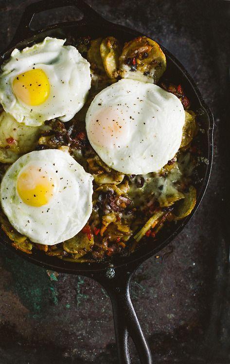Breakfast Skillet | Breakfast | Pinterest