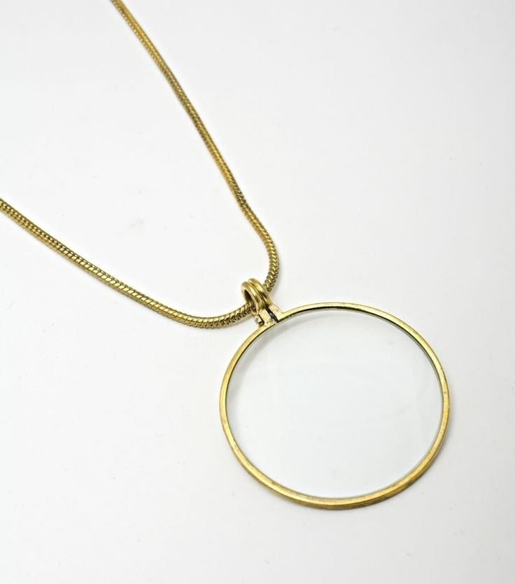 magnifying glass necklace fall 2013 capsule wardrobe
