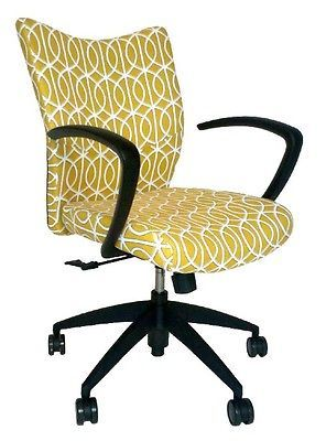 Office Chairs for Women, Upholstered Desk Chairs, DwellStudio