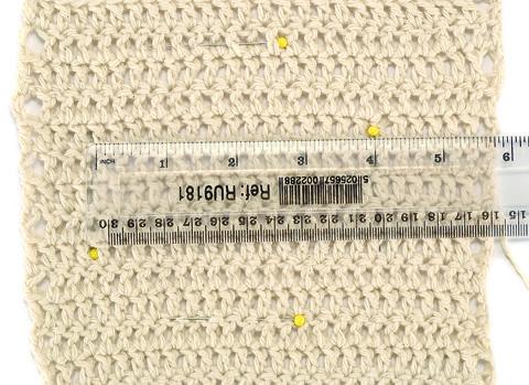 Crochet Gauge : How to Measure Your Gauge Crochet Pinterest