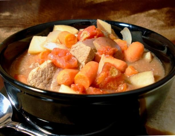 Beef Stew - Crock Pot from Food.com: Good hearty stew, you may want to ...