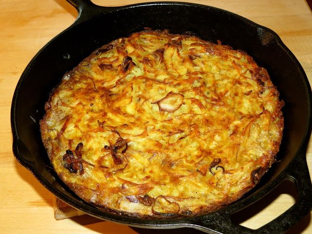 ... Cooking Adventures: Food & Wine's Potato Kugel with Fried Shallots