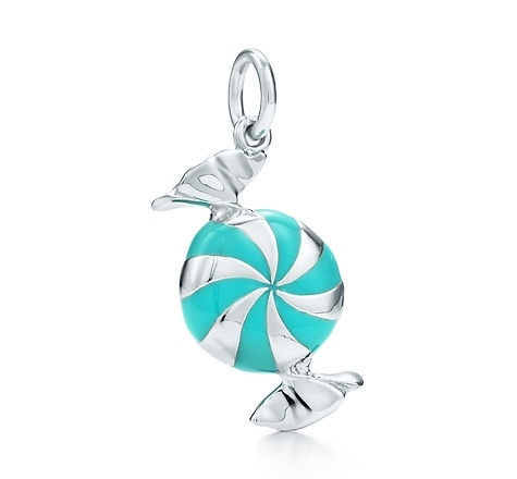 Tiffany & Co. | Item | Bon-bon charm with Tiffany Blue® enamel finish ...