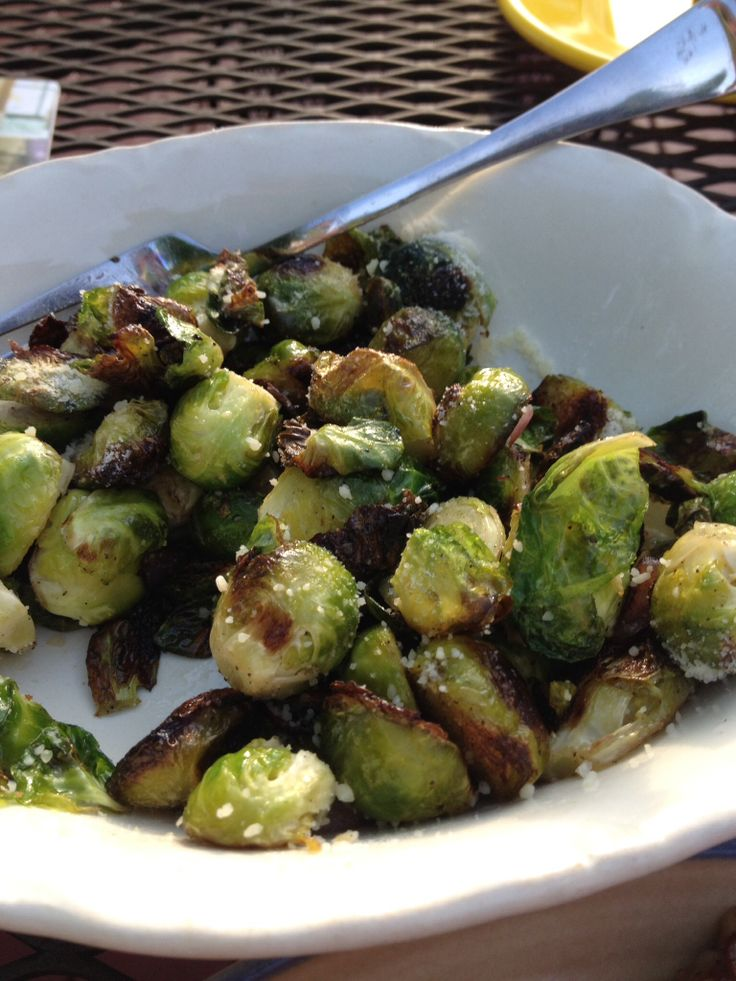 Grilled brussel sprouts | Favorite Recipes | Pinterest