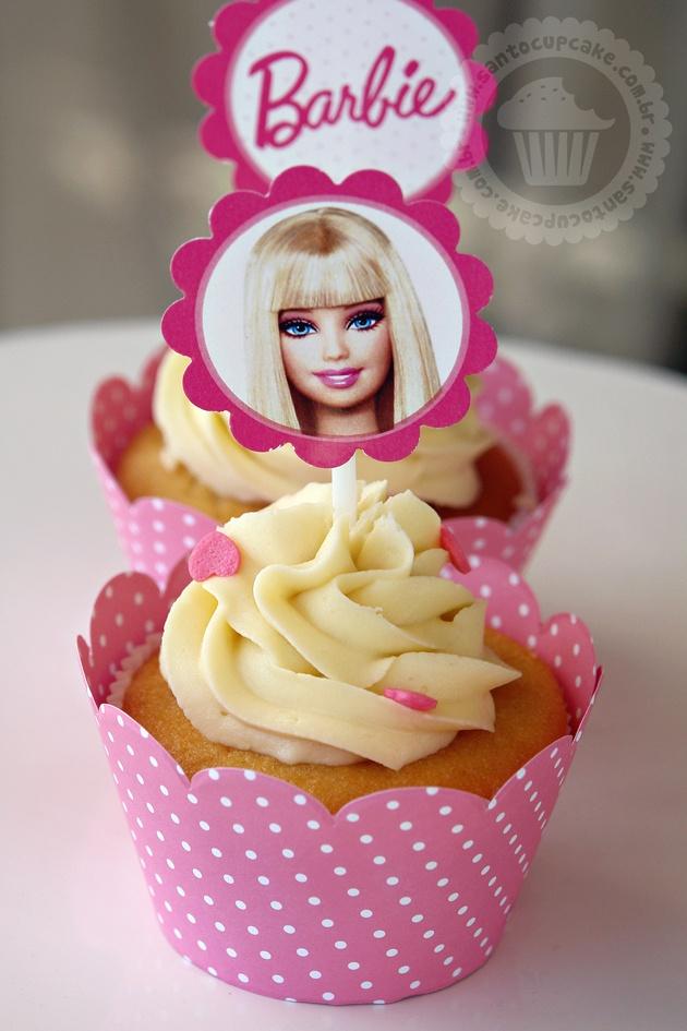 barbie cupcake cake ideas