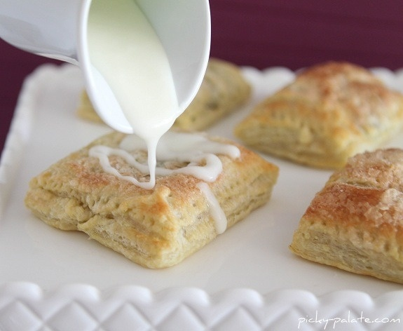 Girl Scout Thin Mint Oven Strudels