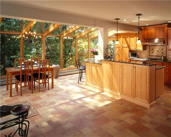 another great sunroom kitchen combo for the home