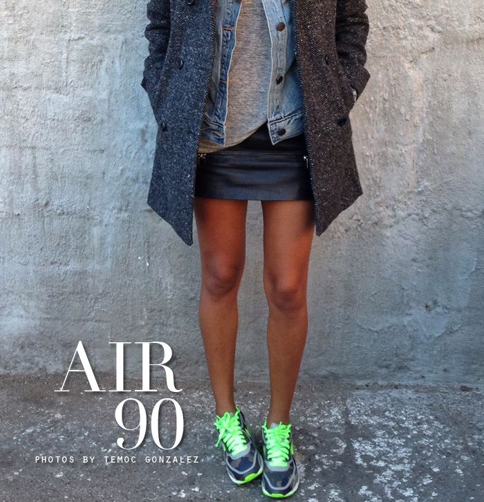 Air 90. - Sincerely Jules Adorable outfit... even with the tennis shoes. ;)