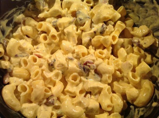 Curried Chicken Pasta Salad   Recipe