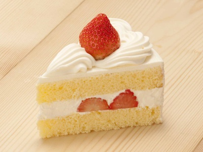 Japanese Strawberry Shortcake | Tasty Noms | Pinterest