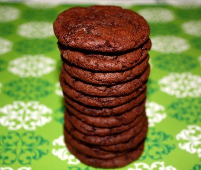 Recipe for Cocoa Fudge Cookies | Two Peas & Their Pod - uses less ...