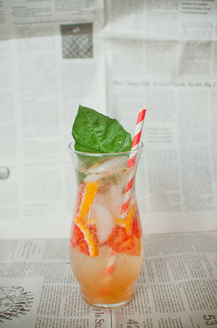 Blood Orange Cocktail | drinks | Pinterest