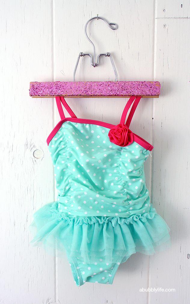 Glitter Hangers Diy