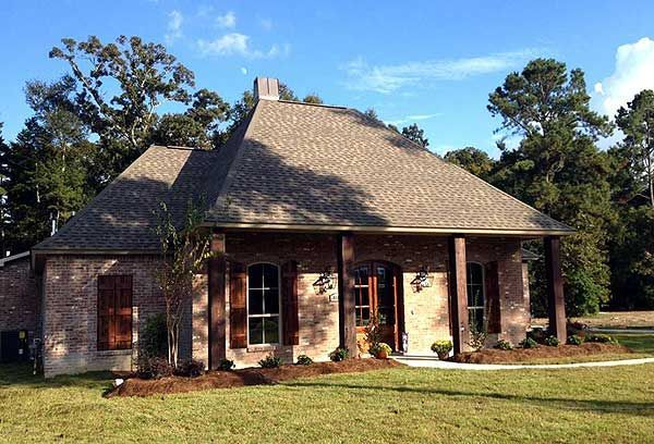 Acadian Style Homes 56370sm Great Acadian Style House