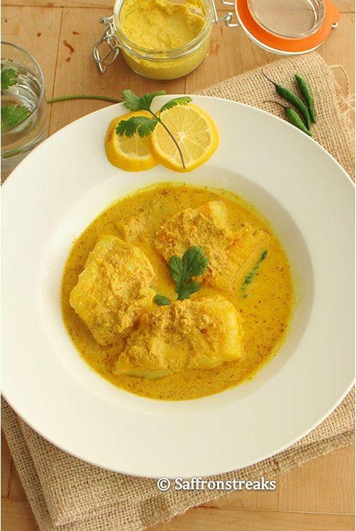 Salmon In A Bengali Mustard Sauce Recipes — Dishmaps